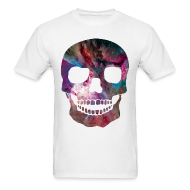 T-Shirts ~ Men's T-Shirt ~ COSMIC SKULL - MENS TSHIRT