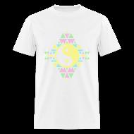 T-Shirts ~ Men's T-Shirt ~ AZTEC YING-YANG - MENS TSHIRT