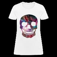 Women's T-Shirts ~ Women's T-Shirt ~ COSMIC SKULL - LADIES TSHIRT
