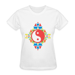 AZTEC YING-YANG - LADIES TSHIRT - Women's T-Shirt