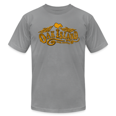 Oak Island Saloon American Apparel T-Shirt