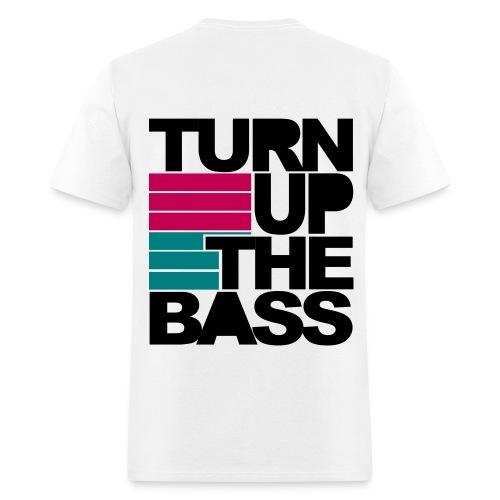 Turn Up The Bass T-Shirt - Men's T-Shirt