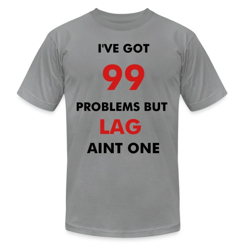 No Lag - Men's Fine Jersey T-Shirt