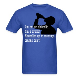 Alcoholic/Drunk - Men's T-Shirt