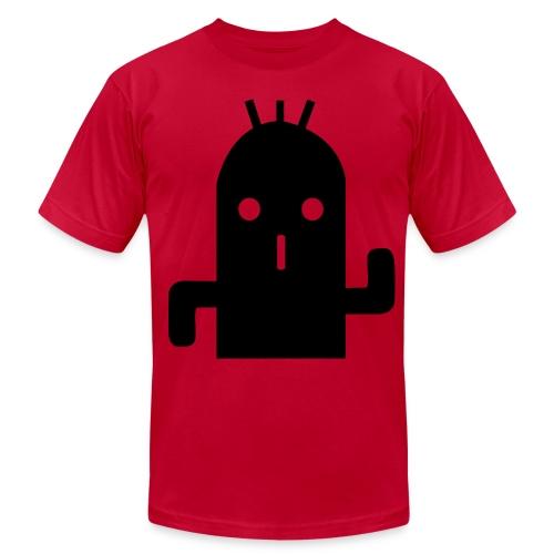Cactuar Stone (Black) - Men's Fine Jersey T-Shirt