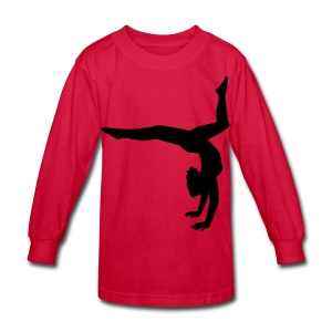 Gymnastics - Kids' Long Sleeve T-Shirt