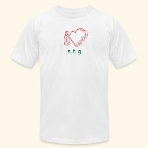 I ❤ STG 2 - Men's Fine Jersey T-Shirt