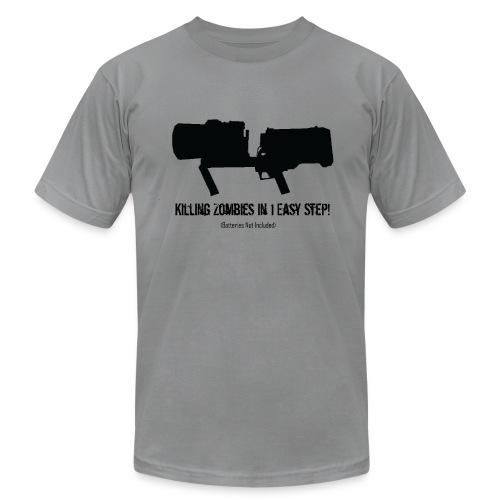 ThunderGun Ad - Men's Fine Jersey T-Shirt