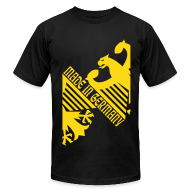 T-Shirts ~ Men's T-Shirt by American Apparel ~ Made in Germany, German Eagle