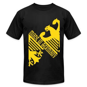 Made in Germany, German Eagle - Men's T-Shirt by American Apparel