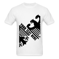 T-Shirts ~ Men's T-Shirt ~ German Eagle, Personalize, Made in Germany