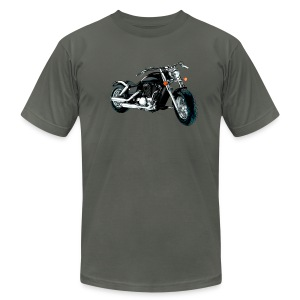 Motorbike shirt - Men's T-Shirt by American Apparel