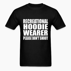 Recrecational Hoodie Wearer Please Dont Shoot Trayvon Martin T-Shirts