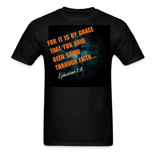 Ephesians 2:8 - Men's T-Shirt