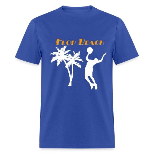Flop Beach white - Men's T-Shirt