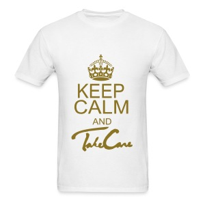 Keep Calm Take Care - Men's T-Shirt