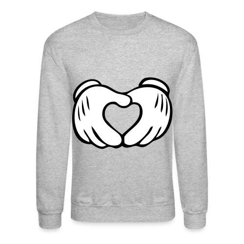 Love Hands Crewneck - Crewneck Sweatshirt