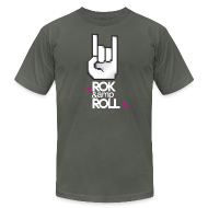 T-Shirts ~ Men's T-Shirt by American Apparel ~ Rok & Roll