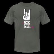 T-Shirts ~ Men's T-Shirt by American Apparel ~ Rok & Roll