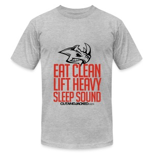 Sleep sound | Mens Tee - Men's T-Shirt by American Apparel