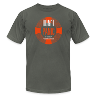 T-Shirts ~ Men's T-Shirt by American Apparel ~ Don't Panic