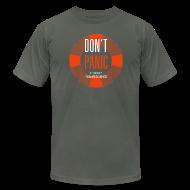 T-Shirts ~ Men's T-Shirt by American Apparel ~ Don't Panic