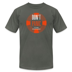 Don't Panic - Men's T-Shirt by American Apparel