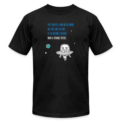 Strange Species - Men's Fine Jersey T-Shirt