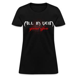 All in Vein Special Effects Women's T-Shirt - Women's T-Shirt