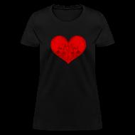 Women's T-Shirts ~ Women's T-Shirt ~ All in Vein Love is Suicide Women's T-Shirt