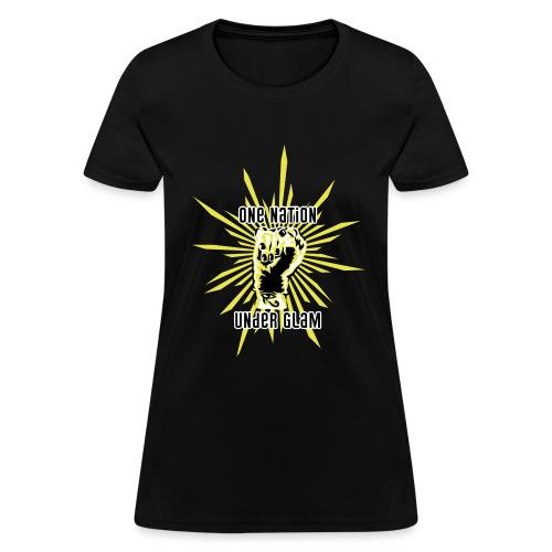 Propaganda-Yellow - Women's T-Shirt
