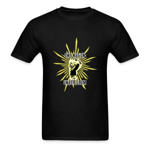 Propaganda-Yellow - Men's T-Shirt