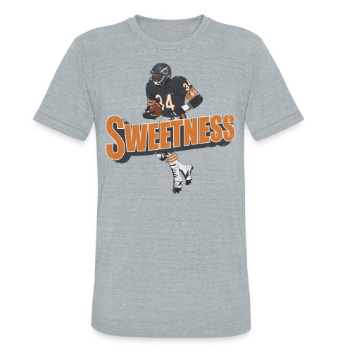 SWEETNESS - Unisex Tri-Blend T-Shirt by American Apparel