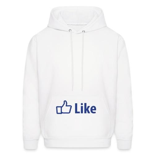 Facebook Like Hoodie - Men's Hoodie