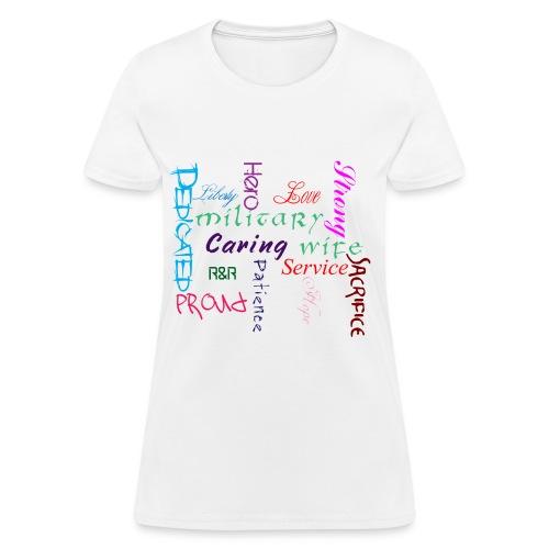 Hero's Wife - Women's T-Shirt