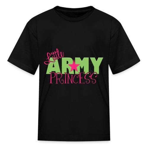 little army princess tee - Kids' T-Shirt