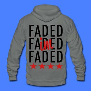 I'm Faded Zip Hoodies/Jackets - stayflyclothing.com - Unisex Fleece Zip Hoodie by American Apparel