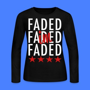 I'm Faded Long Sleeve Shirts - stayflyclothing.com - Women's Long Sleeve Jersey T-Shirt
