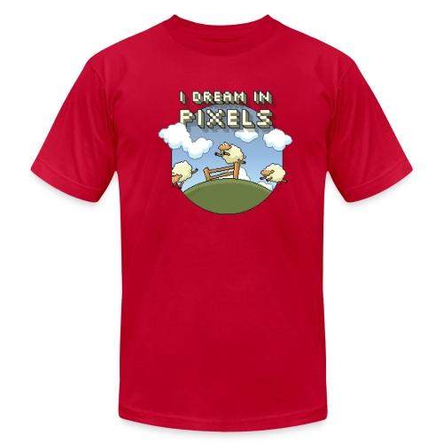 I Dream in Pixels - Men's  Jersey T-Shirt