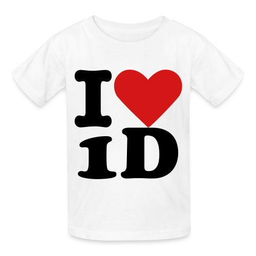 I Love One Direction Kid's T-shirt - Kids' T-Shirt