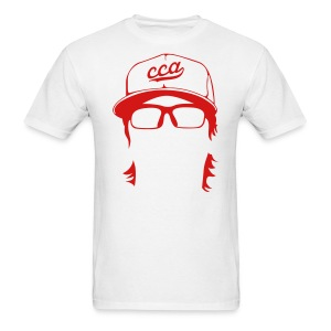 The Setup Man Tee - White - Men's T-Shirt