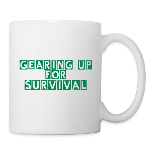 Coffee/Tea Mug - Gearing Up For Survival