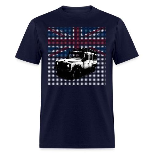 Union Jack Land Rover Defender - Men's T-Shirt