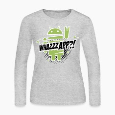 Cool & funny Fashionable Paranoid Android rocks Long Sleeve Shirts