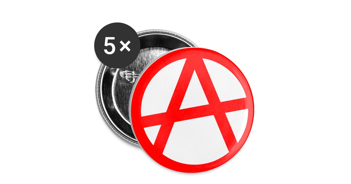 Art2tee4shirt Anarchy Button Small Buttons