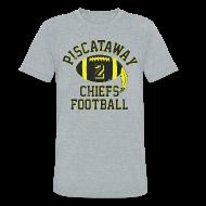 T-Shirts ~ Unisex Tri-Blend T-Shirt ~ M. JENKINS H.S. THROWBACK