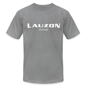 Mens Lauzon MMA Grey - Men's T-Shirt by American Apparel