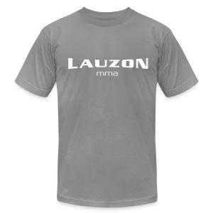 Mens Lauzon MMA Grey - Men's Fine Jersey T-Shirt
