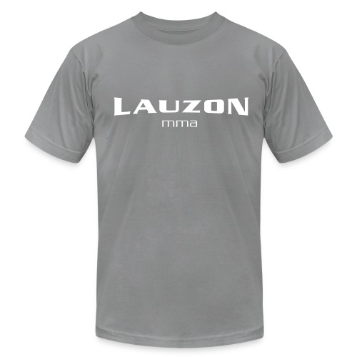Mens Lauzon MMA Grey - Men's Fine Jersey T-Shirt