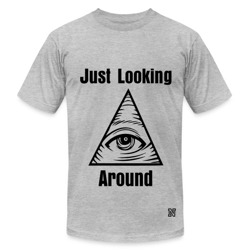 They're Watching You - Men's Fine Jersey T-Shirt